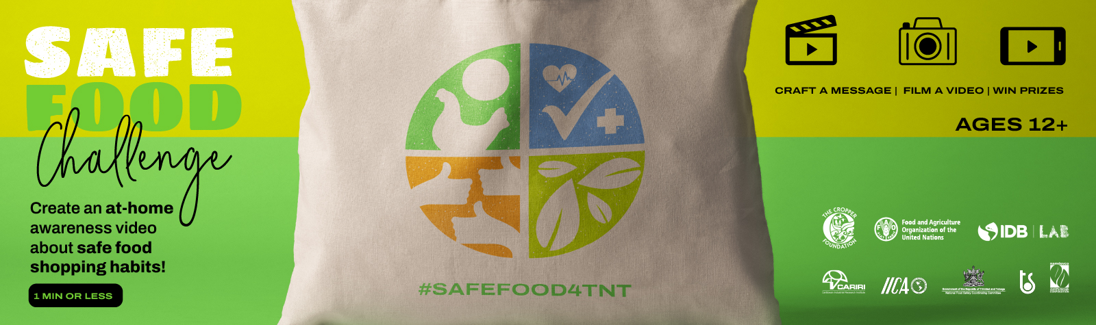 SAFE Food Challenge – Film It to Win It!