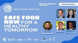 Flyer for World Food Safety Day Webinar